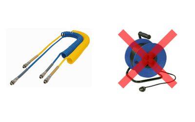 No usar alargaderas eléctricas